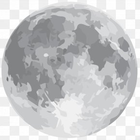 Earth - January 2018 Lunar Eclipse Earth Supermoon Full Moon PNG