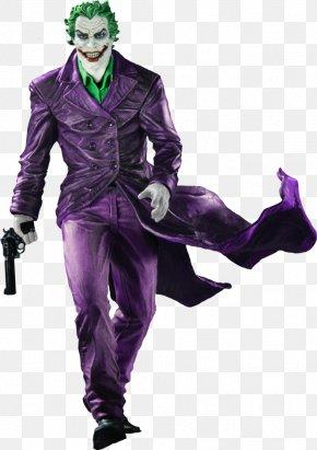 Joker - Joker Batman Black And White Statue DC Comics PNG