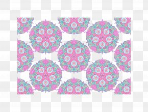 Chinese Pink Circle Pattern - Circle Pink Download Pattern PNG