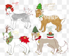 Dog - Dog Christmas Ornament Deer Christmas Tree PNG