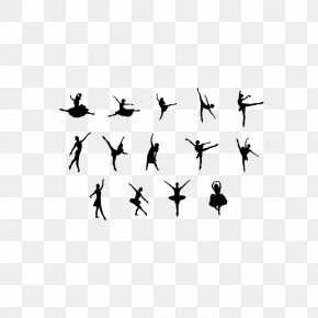 Ballet Silhouette - Ballet Dancer Silhouette PNG