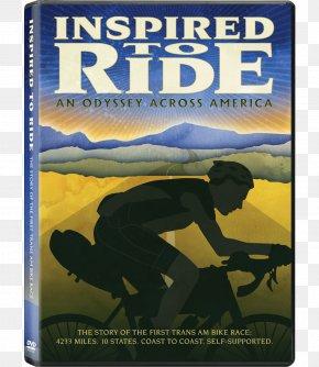 Bike Race Poster Design - Race Across America Trans Am Bike Race Cycling Film Putlocker PNG