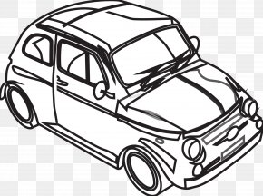 Black And White Car Pictures - Car Black And White Drawing Clip Art PNG