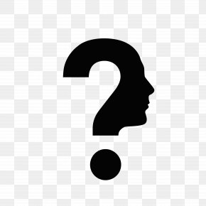 Think Of Question Mark Face - Human Head Question Mark Face PNG