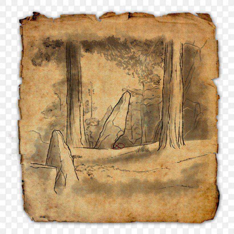 The Elder Scrolls Online United States Treasure Map, PNG, 1024x1024px, Elder Scrolls Online, Buried Treasure, Cyrodiil, Elder Scrolls, Location Download Free