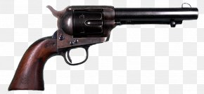 Wild West - Colt Single Action Army Revolver Colt's Manufacturing Company Pistol Colt Army Model 1860 PNG