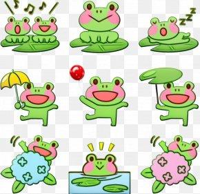 Animal Figure Frog - Green Clip Art Cake Decorating Supply Frog Animal Figure PNG