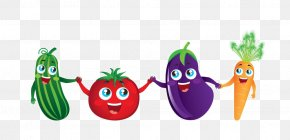 Cartoon Vegetable Material - Vegetable Cartoon Royalty-free Illustration PNG