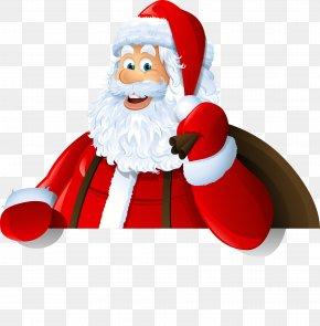 Santa Claus Vector Material Cartoon Art - Santa Claus Royalty-free Clip Art PNG