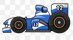 Formula Cliparts - Auto Racing Cartoon Clip Art PNG