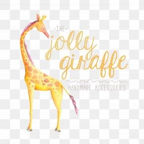 Giraffe And English - Baby Giraffes Wedding Invitation Paper Clip Art PNG