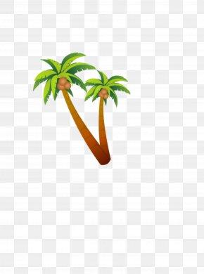 Coconut Tree - Coconut Tree Clip Art PNG