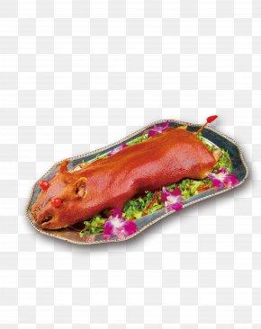Suckling Pig - Qingming Domestic Pig Siu Yuk Roast Goose U70e7u4e73u732a PNG
