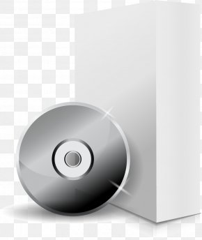 Vector Painted CD Packaging - Software Compact Disc Device Driver PNG