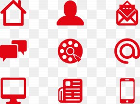 Mobile Phone Contact Person Computer Collection Material - Symbol Picture Exchange Communication System Icon PNG