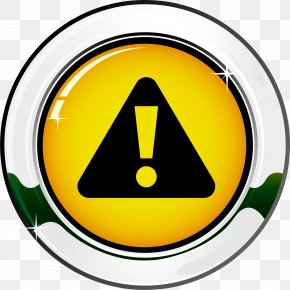 Traffic Sign Vector Element - Warning Sign Icon PNG