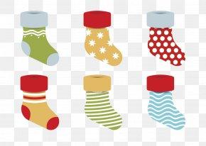 Christmas Stocking - Christmas Stocking Sock Snowflake PNG