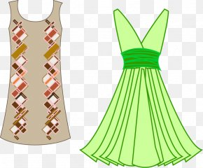 Vector Material Fashion Women's Clothing - Fashion Design Clothing Designer Dress PNG