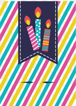 Color Stripe Birthday Party Decorations - Graphic Design Birthday Party PNG