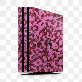 Playstation - Sony PlayStation 4 Pro Video Game Consoles Pink PNG