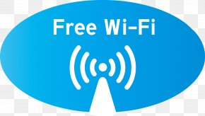 Vector Logo Free WiFi - Wi-Fi Wireless Network PNG