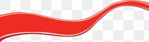 Ribbon Image - Product Red Angle Font PNG