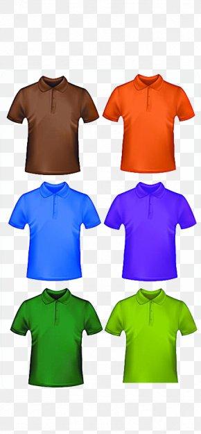 Color T-shirt - Printed T-shirt Polo Shirt Clothing PNG