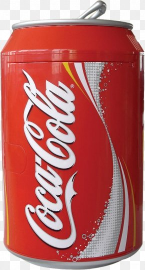 Coca Cola Can Image - Coca-Cola Soft Drink Refrigerator Beverage Can PNG