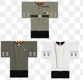 Flat Shading - T-shirt Roblox Uniforms Of The Heer PNG