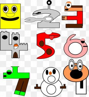 Numbers Cliparts - Cartoon Number Animation Clip Art PNG