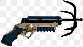 Hook - Firearm Grappling Hook Weapon Grapple Gun Barrel PNG