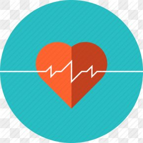 Cardiology Heartbeat Icon - Health Care Medicine Cardiovascular Disease Heart PNG