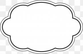 Little Clean Cloud Card PNG