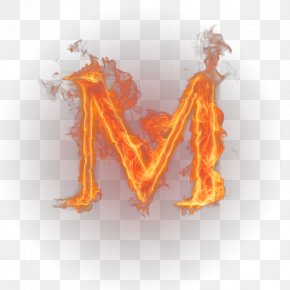 Flame - Letter English Alphabet Flame PNG
