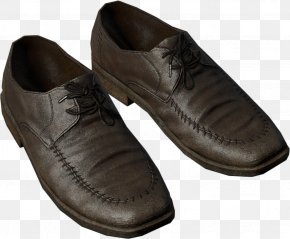 Leather Shoes - Shoe Size Leather Clothing Hook And Loop Fastener PNG
