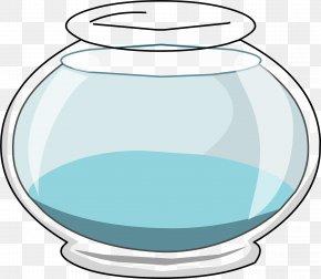 Empty Fish Cliparts - Club Penguin Bowl Glass Coloring Book Clip Art PNG