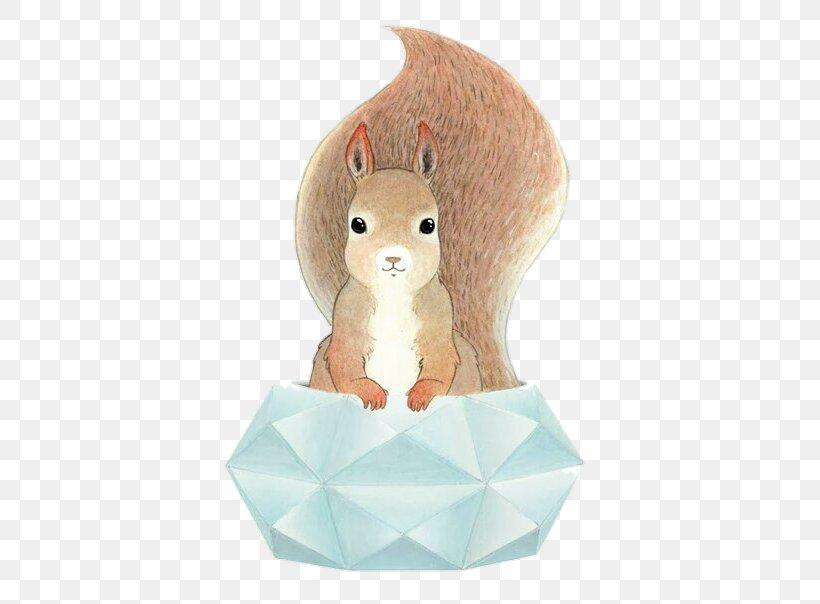 Origami Squirrel Paper Art — Stock Photo © Tetreb88 #180477942 | 604x820