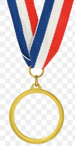 Cartoon Gold Medal - Gold Medal Award Olympic Medal Clip Art PNG