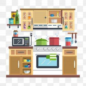 Kitchen Illustration - Kitchen Utensil Interior Design Services Illustration PNG