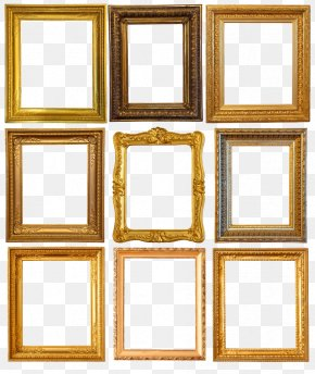 Retro Frame Word - Picture Frame Painting Photography Shutterstock PNG