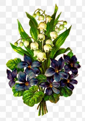 Lily Of The Valley - Cut Flowers Lily Of The Valley Violet Clip Art PNG