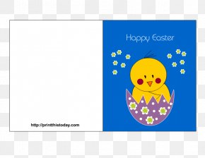 Easter Posters - Easter Bunny Easter Postcard Greeting & Note Cards Paper PNG