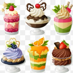 Ice Cream - Ice Cream Mousse Bakery Dessert Clip Art PNG