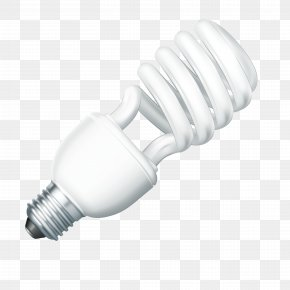 White Light Bulb - Incandescent Light Bulb Lamp Electric Light PNG