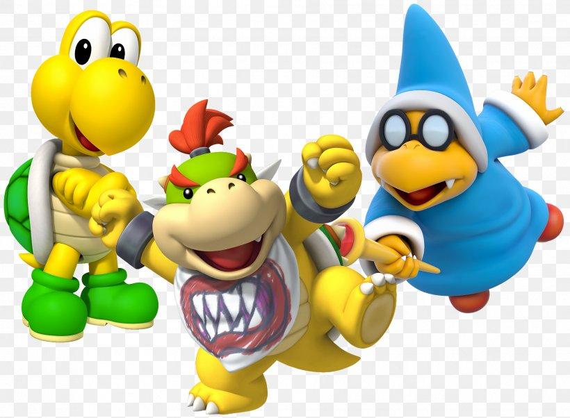 Bowser Jr Mario Bros Koopa Troopa Png 1885x1385px
