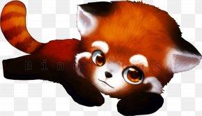 Red Panda Clipart - Red Panda Giant Panda Clip Art PNG