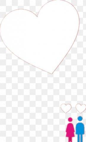 Men And Women Love - Paper Heart Petal Pattern PNG
