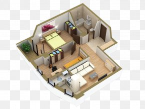 House - Floor Plan Villa House Room Apartment PNG