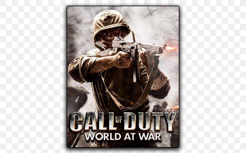 Call Of Duty: World At War Call Of Duty: WWII Call Of Duty: Zombies World War Heroes: WW2 FPS Call Of Duty 4: Modern Warfare, PNG, 512x512px, Call Of Duty World At War, Activision Blizzard, Call Of Duty, Call Of Duty 4 Modern Warfare, Call Of Duty Wwii Download Free