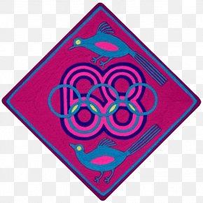 Circus Ticket Template - 1968 Summer Olympics Huichol Art Clip Art PNG
